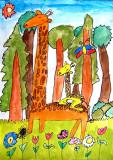 giraffe, Isabelle, age:6