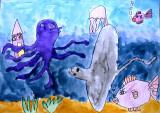 underwater, Sophia Su, age:5.5