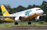 Cebu Pacific RP-C3193 lifts off for Manila