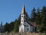 St.  Ann's Catholic Church - Quamichan - Duncan, BC - 1903