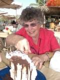 Mary Lou with mud pie.JPG