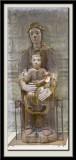 Vierge a l'Enfant en majeste, dernier quart XIIe siecle