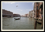 Looking up the Grand Canal