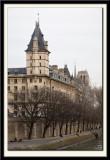 Paris Bridges and The Seine