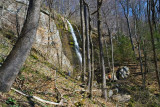 waterfall in Chestnut Ridge Heritage Preserve 1
