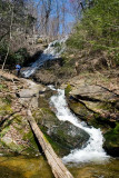 waterfall in Chestnut Ridge Heritage Preserve 3