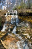 waterfall in Chestnut Ridge Heritage Preserve 4