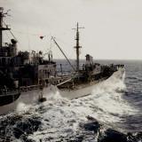 Taken from the USS Hugh Purvis, DD 709, in March of 1962