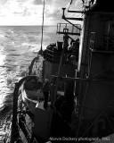 Sunset from USS Hugh Purvis DD 709