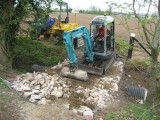 Forming the site access