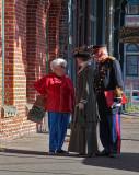 Meeting on the Street - Port Townsend Washington