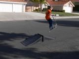 Jumping fool