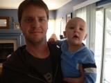 Dad and Mokey