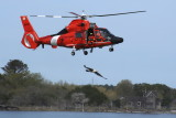 Coast Guard Helicopter Drop 03/08/08  Humboldt Bay