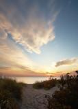 Sundown through the Dunes