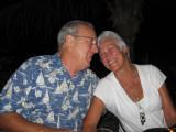 Ralph and Renda  enjoying the night