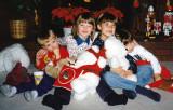 Morgan, Sara, Evan and Blais