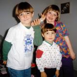 Sara, Blais and Evan