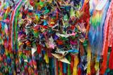 Nagasaki cranes origami