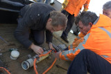 Attaching the rope to the C-Pod