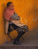 Vendor Resting San Miguel