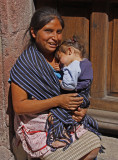 Mother Holding Baby San Miguel
