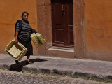 Selling Baskets San Miguel