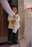 Little Girl White Curtain 5