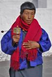 Prayer Wheel Kyichu Lhakhang Temple