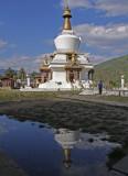 Kyichu Lhakhang Temple Reflection