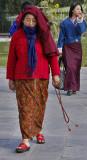 Walking Kyichu Lhakhang Temple