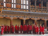 Monks Waiting for Meal