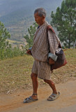 Walking Bhutan Road