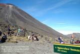 Mt Ngauruhoe summit sidetrack