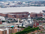 Albert Dock from the Cathedral tower August 2008