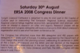 Dinner details.--sorry about the quality