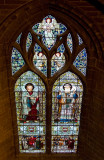 Chapter House window from the gallery