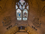 South Chapter House window from the gallery