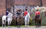 Hunt meeting at Heskin Hall.