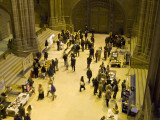 Craft stalls in the Nave.
