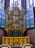 Lady Chapel altar.