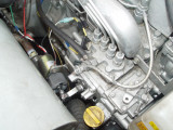 THE FUEL SHUTOFF SOLENOID HAD TO BE MODIFIED SOME TO FIT