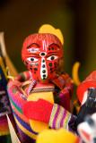 Colorful handpuppet