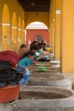 Women doing laundry at Tanque de la Union