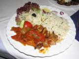 Great Greek food as well