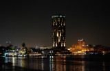 The beauty of Cairo by night