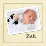 Zak's Storybook- Newborn