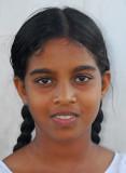 Anuradhapura Girl Sri Lanka