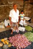 Hunasgiriya Market Sri Lanka