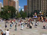 Olympic Plaza Stampede Entertainment